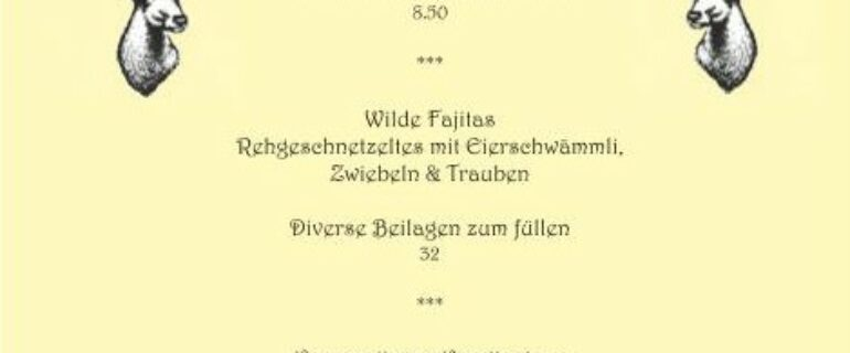 Wilde Fajitas