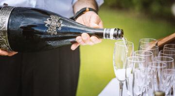 Champagner- oder Biermenu